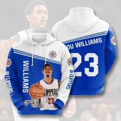 NBA LA Clippers 3D Hoodie V1