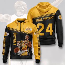 NBA Los Angeles Lakers 3D Hoodie V1