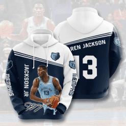 NBA Memphis Grizzlies 3D Hoodie V1