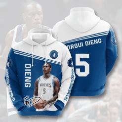 NBA Minnesota Timberwolves 3D Hoodie V1