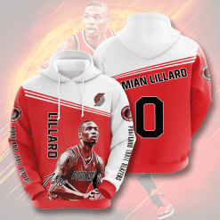 NBA Portland Trail Blazers 3D Hoodie V1