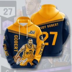 NBA Utah Jazz 3D Hoodie V1