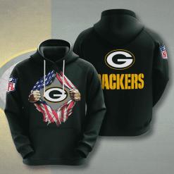 NFL Green Bay Packers 3D Hoodie V1