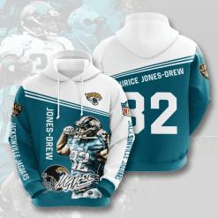 NFL Jacksonville Jaguars 3D Hoodie V10