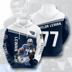 NFL Tennessee Titans 3D Hoodie V10