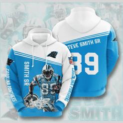 NFL Carolina Panthers 3D Hoodie V10
