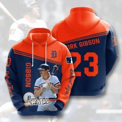 MLB Detroit Tigers 3D Hoodie V10