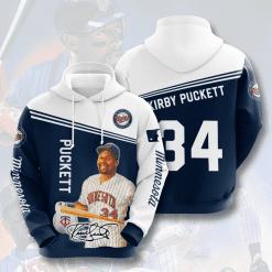 MLB Minnesota Twins 3D Hoodie V10
