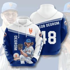 MLB New York Mets 3D Hoodie V10