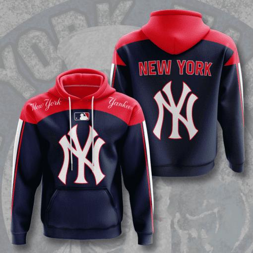 MLB New York Yankees 3D Hoodie V10