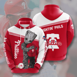 MLB Philadelphia Phillies 3D Hoodie V10