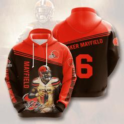 NFL Cleveland Browns 3D Hoodie V10