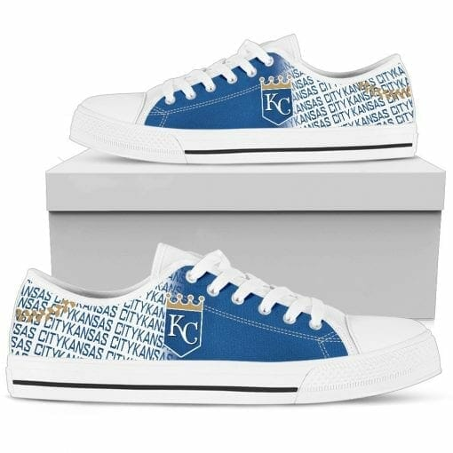 MLB Kansas City Royals Low Top Shoes
