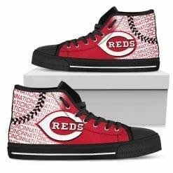 MLB Cincinnati Reds High Top Shoes