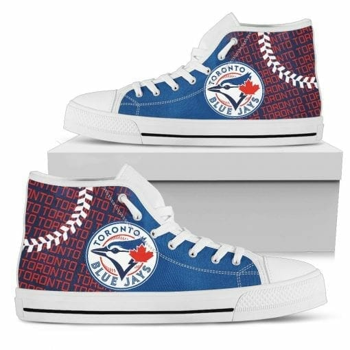 MLB Toronto Blue Jays High Top Shoes