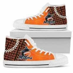 MLB Miami Marlins High Top Shoes