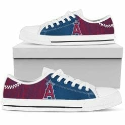 MLB Los Angeles Angels Low Top Shoes