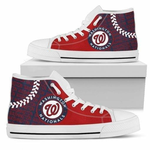 MLB Washington Nationals High Top Shoes