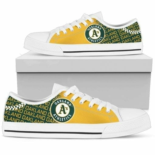 MLB Oakland Athletics Low Top Shoes
