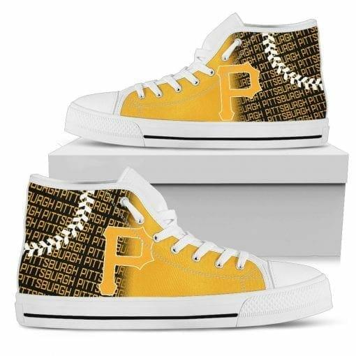 MLB Pittsburgh Pirates High Top Shoes