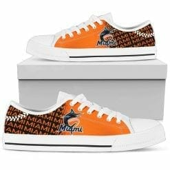 MLB Miami Marlins Low Top Shoes
