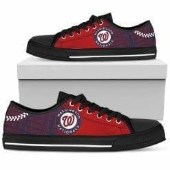 MLB Washington Nationals Low Top Shoes