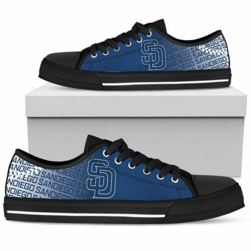 MLB San Diego Padres Low Top Shoes