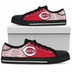 MLB Cincinnati Reds Low Top Shoes