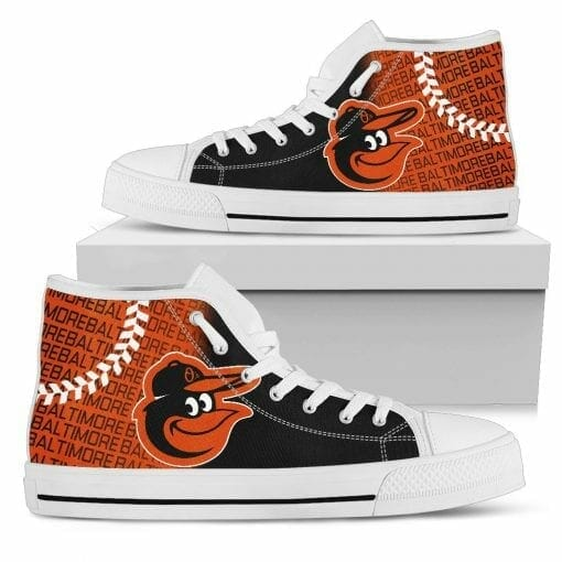 MLB Baltimore Orioles High Top Shoes