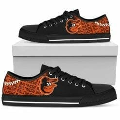 MLB Baltimore Orioles Low Top Shoes
