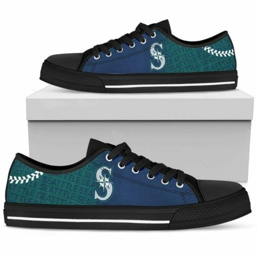 MLB Seattle Mariners Low Top Shoes