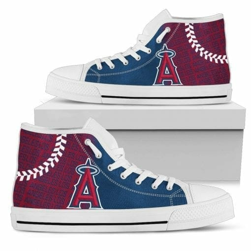 MLB Los Angeles Angels High Top Shoes