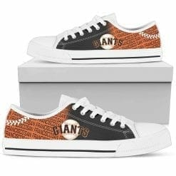 MLB San Francisco Giants Low Top Shoes