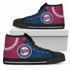 MLB Minnesota Twins High Top Shoes