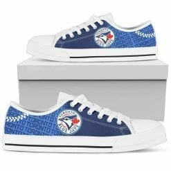 MLB Toronto Blue Jays Low Top Shoes