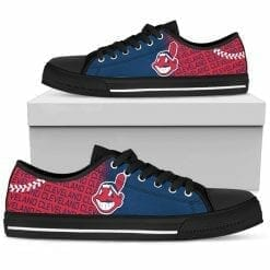 MLB Cleveland Indians Low Top Shoes