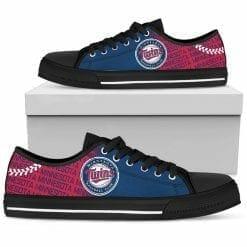 MLB Minnesota Twins Low Top Shoes