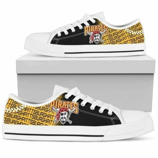 MLB Pittsburgh Pirates Low Top Shoes