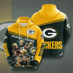 NFL Green Bay Packers 3D Hoodie V11
