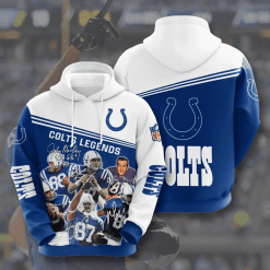 NFL Indianapolis Colts 3D Hoodie V11