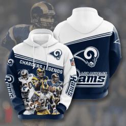 NFL Los Angeles Rams 3D Hoodie V11