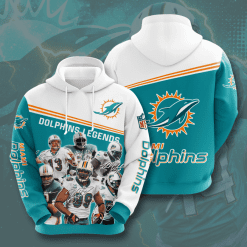 NFL Miami Dolphins 3D Hoodie V11