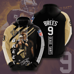 NFL New Orleans Saints 3D Hoodie V11