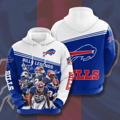 NFL Buffalo Bills 3D Hoodie V11