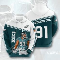 NFL Philadelphia Eagles 3D Hoodie V11