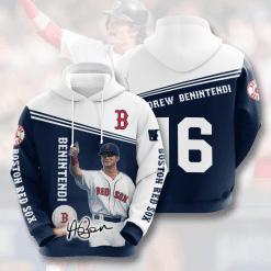 MLB Boston Red Sox 3D Hoodie V11