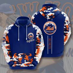 MLB New York Mets 3D Hoodie V11