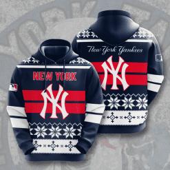 MLB New York Yankees 3D Hoodie V11