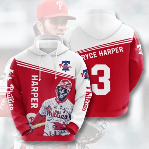 MLB Philadelphia Phillies 3D Hoodie V11