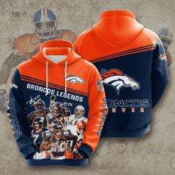 NFL Denver Broncos 3D Hoodie V11